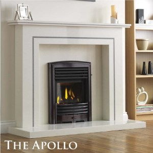 The Apollo Marble Fireplace