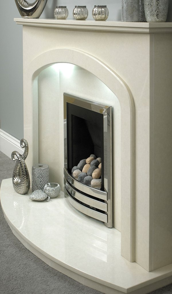 The Portland Marble Fireplace