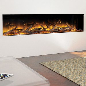 Flamerite Glazer 1500 1-Sided Inset Electric Fire
