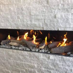 RS 1000 Frameless Open Fronted Gas Fire