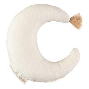 Hochet en coton bio Lune