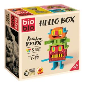 Jeu de construction Hellobox – Set de 100 pièces