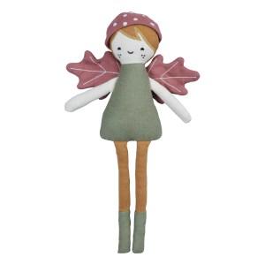 Poupée Elfe de la forêt en coton bio