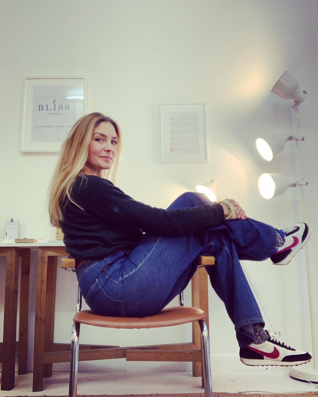 Portrait de Stéphanie, fondatrice de la marque B L I S S