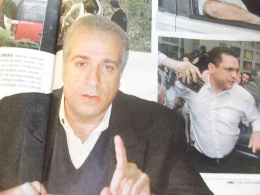 Celso Daniel nas páginas de Ronan Maria Pinto