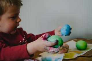 Tactile sensory play