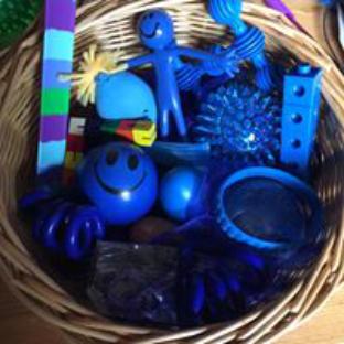 Bespoke Sensory Packs, Blue