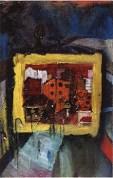 cityscape 6, oil on canvas