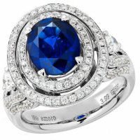 Gorgeous Amoro Sapphire and Diamond Rings