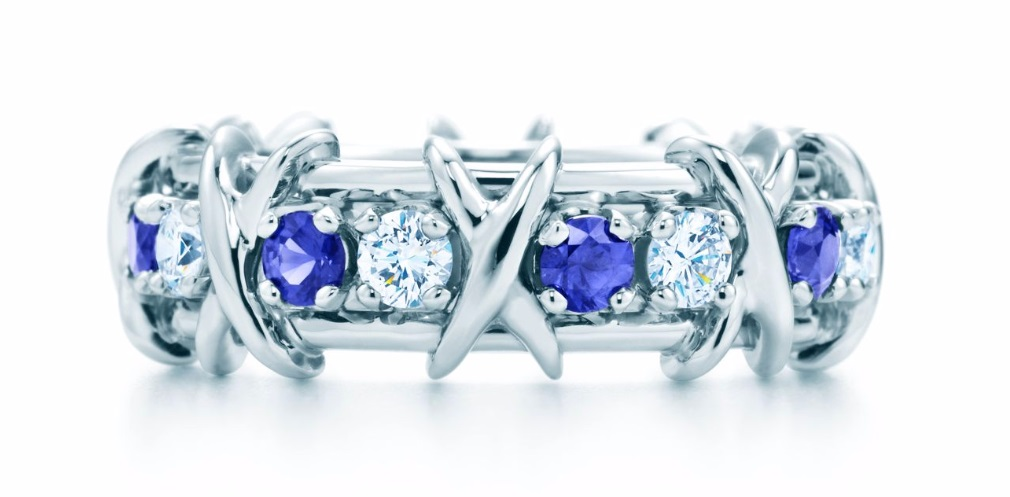 TIFFANY & CO. SCHLUMBERGER® SIXTEEN STONE RING