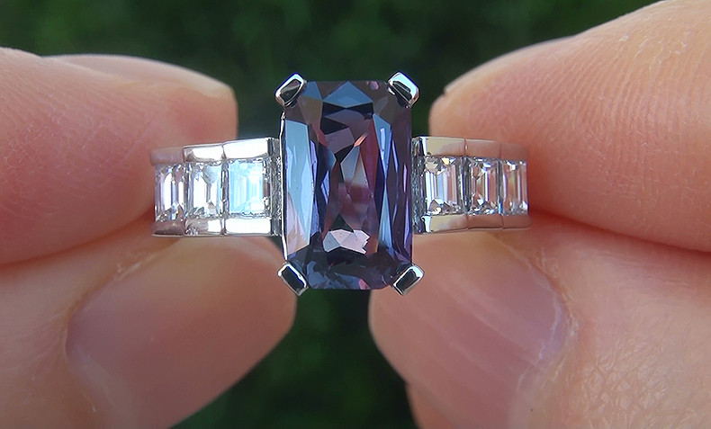 Click Photo To Bid On This Gorgeous Sapphire Ring