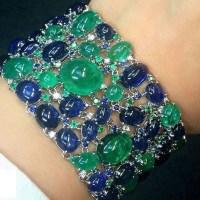 A Gorgeous Cabochon Gemstone Bracelet