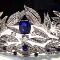 The Exquisite Chaumet Firmament Apollinien Sapphire and Diamond Tiara