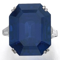 An Exquisite Sapphire and Diamond Ring by Van Cleef & Arpels