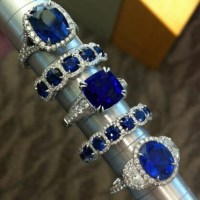 Sapphire and Diamonds in Wonderful Ring Designs