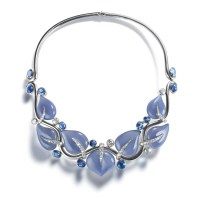 Belperron Leaves Necklace