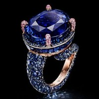 Sapphire Ring of Exquisite Beauty and Design