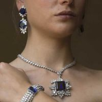 Gorgeous Sapphire and Diamond Jewelry