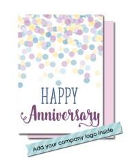 corporate employee anniversary card
