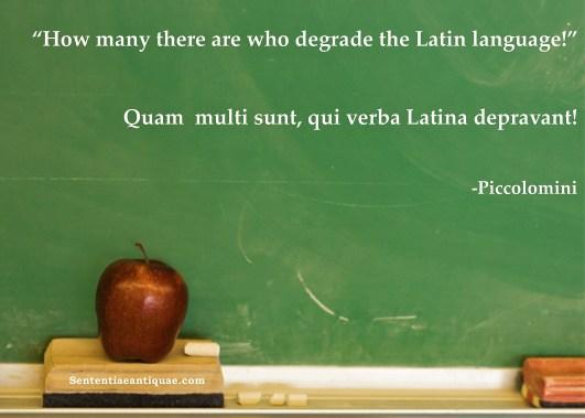 Latin Classroom