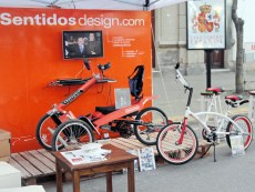 Stand Sentidos design