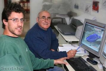 """Indalecio Sabbioni y Augusto """"Pirincho"""" Cicare"""