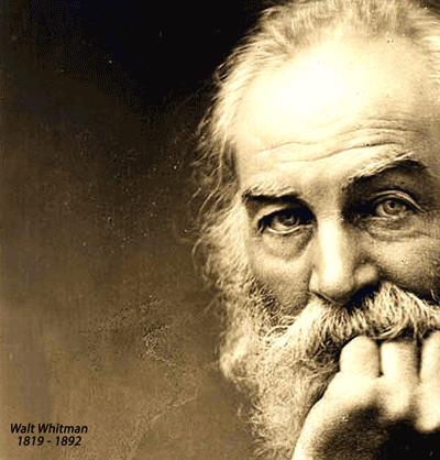 Walt Whitman (1819 - 1892).