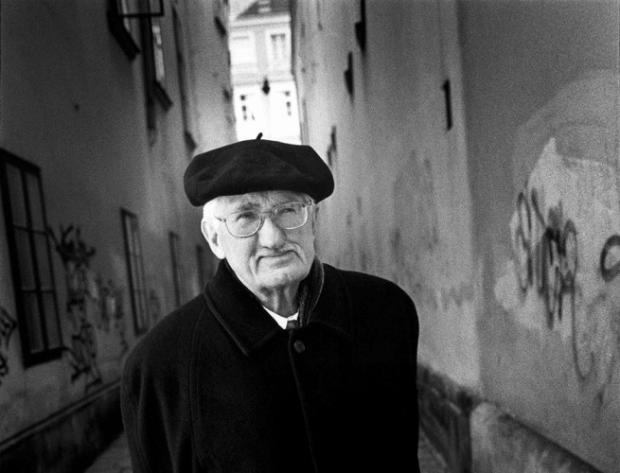 Jürgen Habermas, Vienna, 2004.