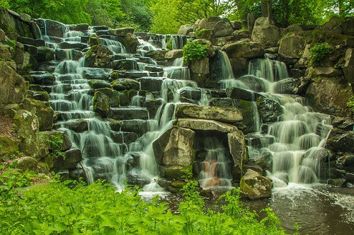waterfall oracle card meaning