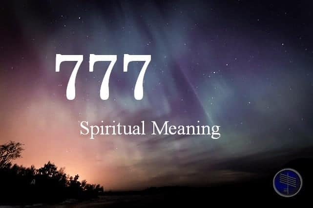 777 meaning numerology