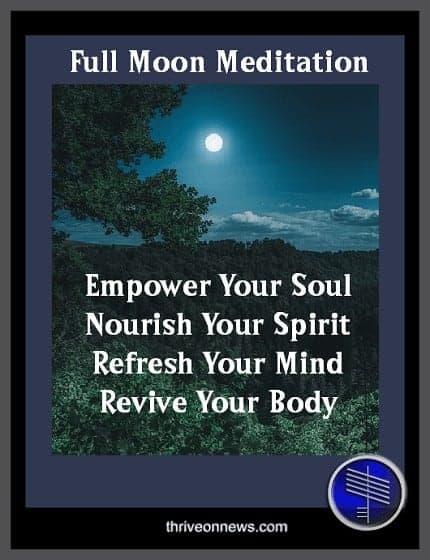 full moon meditation technique