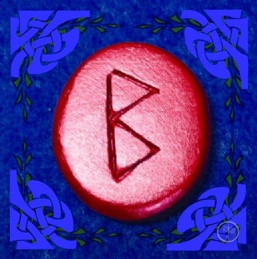 Berkana Rune Stone Meaning