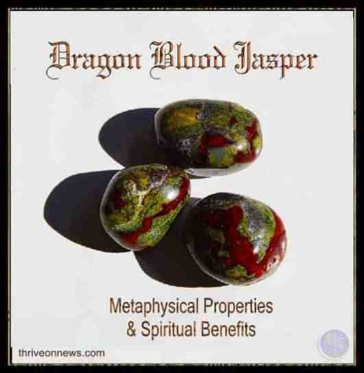 Dragon Blood Jasper Meaning