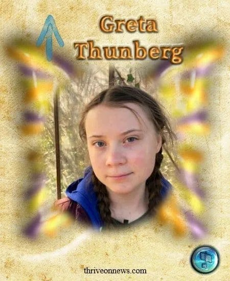 greta thunberg butterfly children