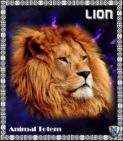Lion spirit animal totem