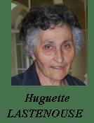 Huguette Lastenouse - Sentier Francis Lastenouse