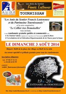 Sentier Francis Lastenouse - Balade Guidée - 9 aout 2014  - Tournissan