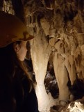 All'interno delle grotte