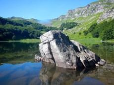 lago baccio e la roccia magica