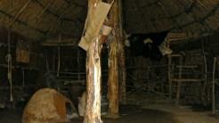 L'interno della capanna neolitica