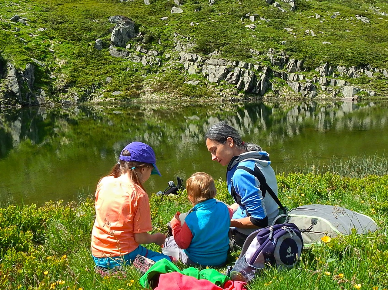 Il Lago Nero all'Alpe delle Tre Potenze