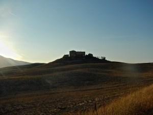 le colline intorno Volterra