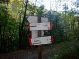 Un cartello del parco
