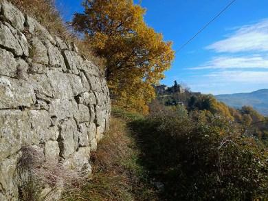 l'antica via per Porciano