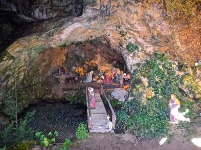 il presepe nella grotta