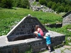 La sorgente delle Capanne del Lago Nero