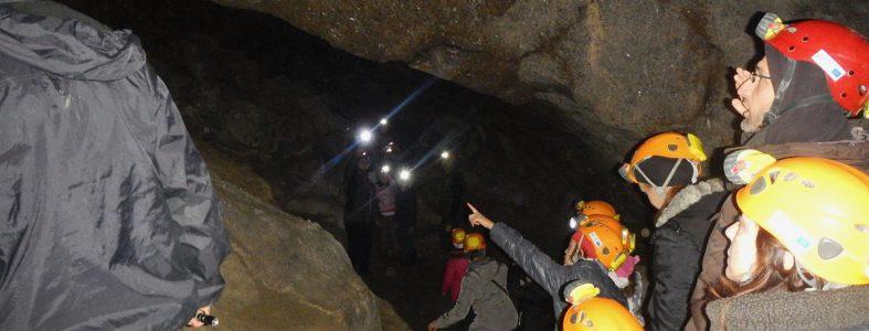 Dentro la Grotta del Farneto