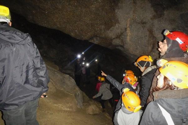 Un'avventura speleo alla grotta di gesso del Farneto