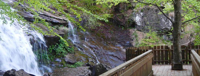 La fine del sentiero, alle cascate del Doccione