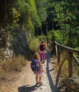 Il sentiero per le pozze alte